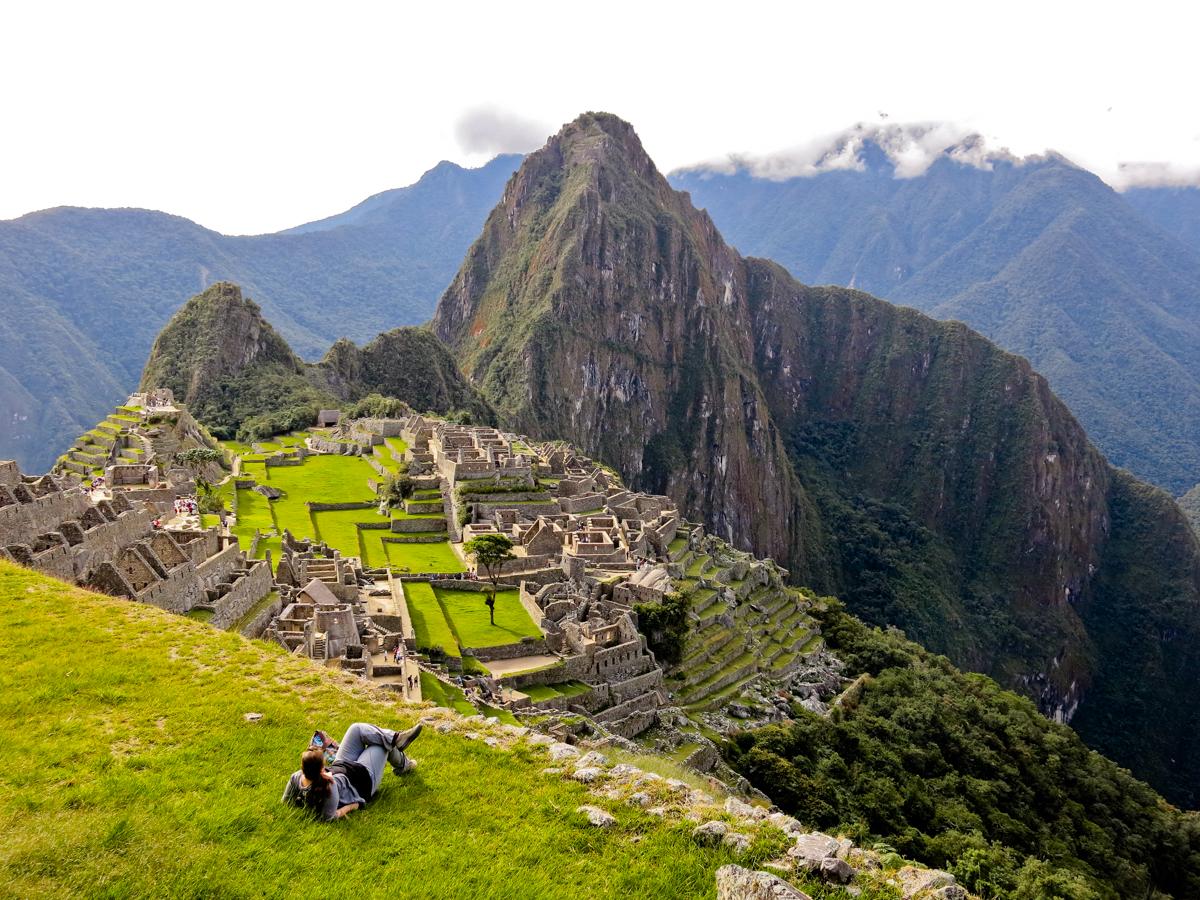 Jennifer Doré Dallas au Machu Picchu, Pérou