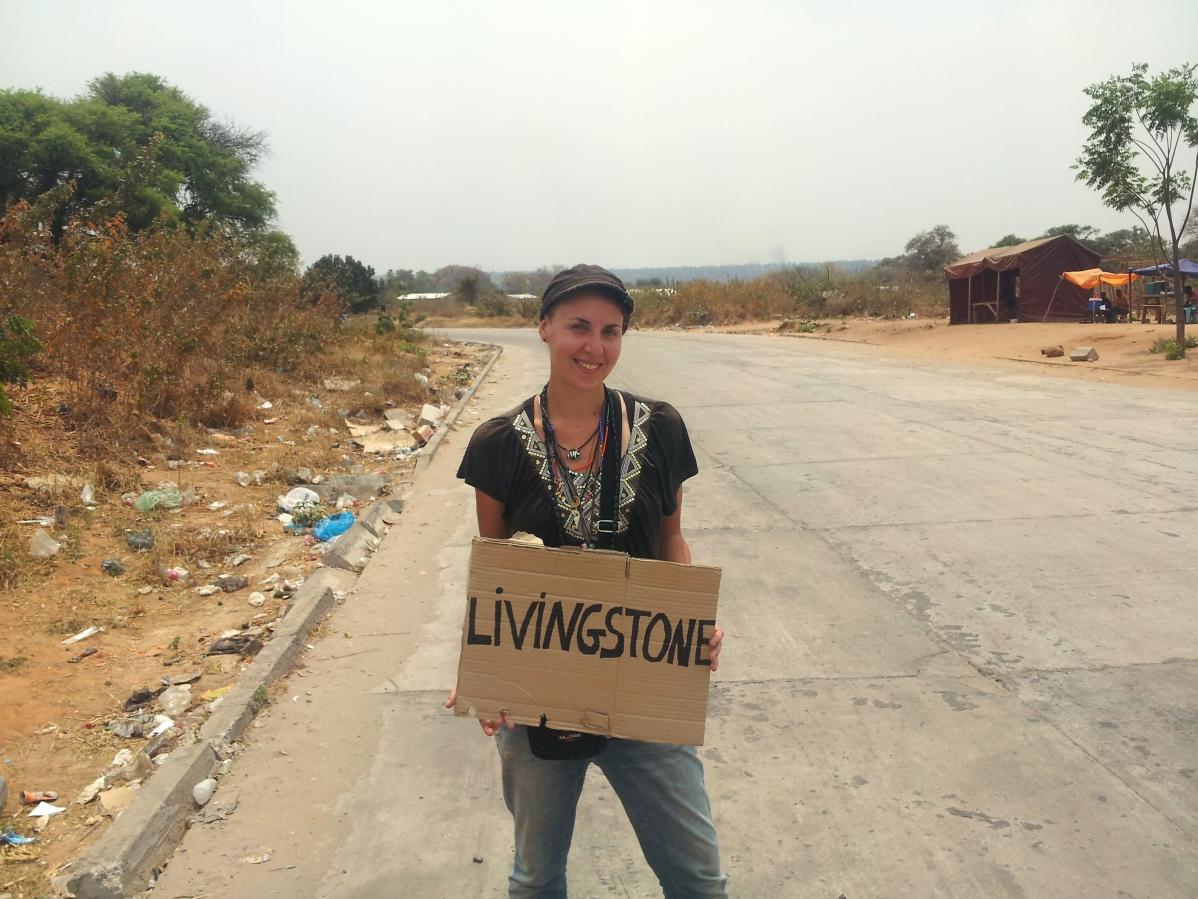 Autostop en Zambie - Histoires de tongs