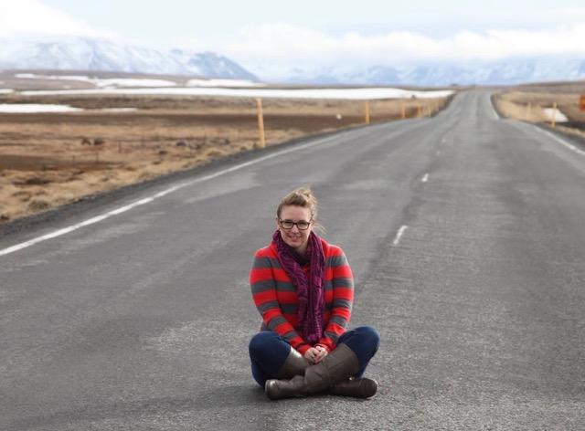 Maude Carrier en Islande