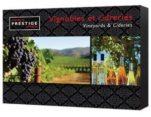 coffret prestige vignobles et cidreries