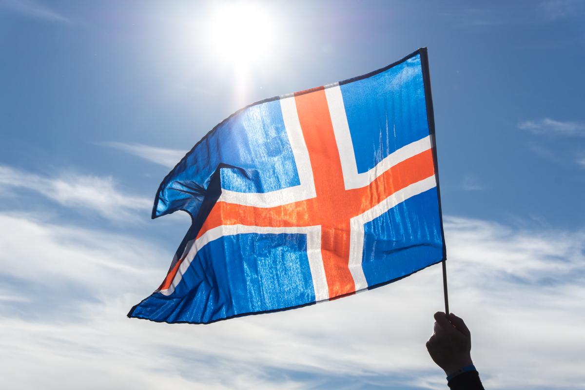 Drapeau d'Islande
