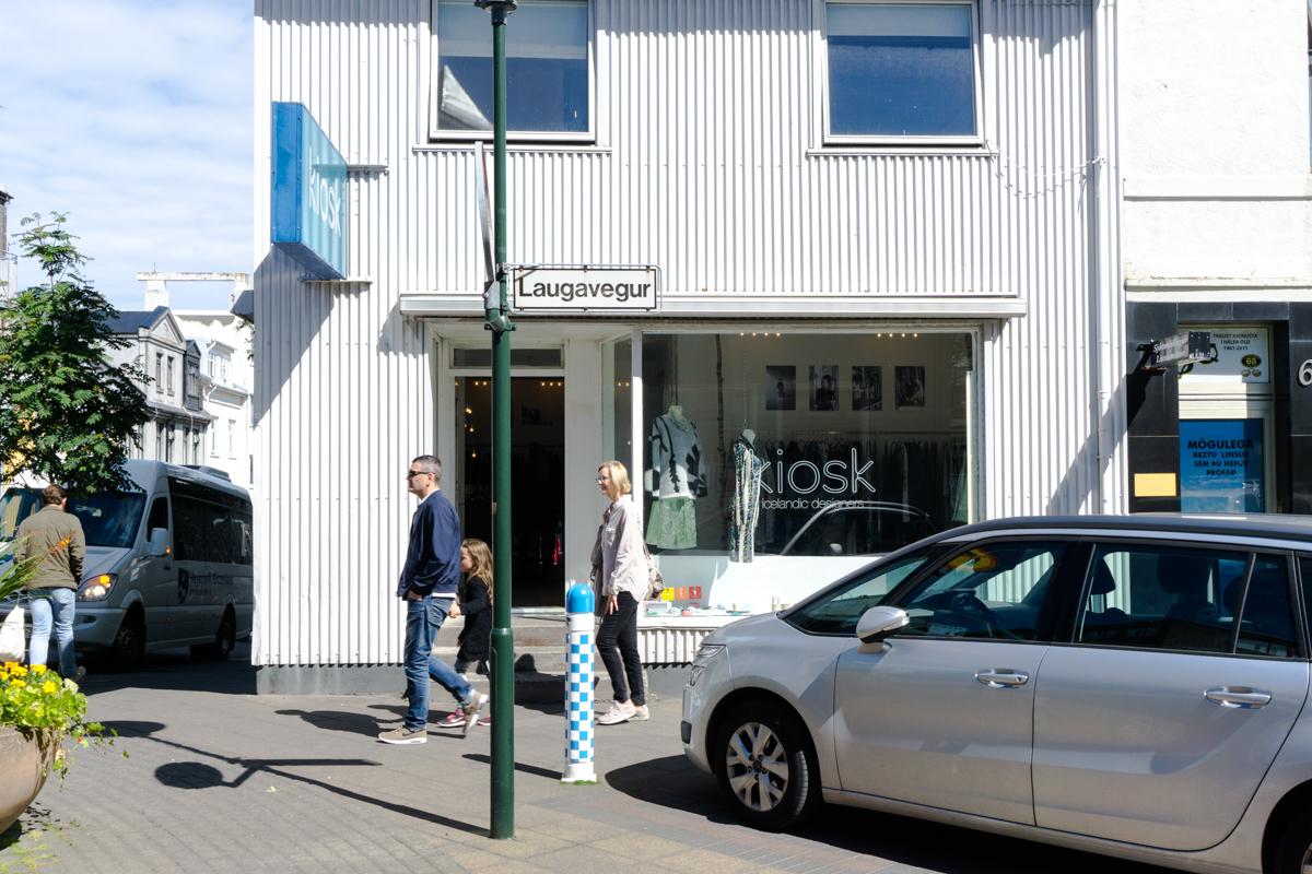 Où faire du shopping en Island - Kiosk