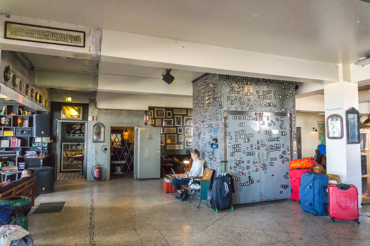 Où dormir à Reykjavik? Kex Hostel
