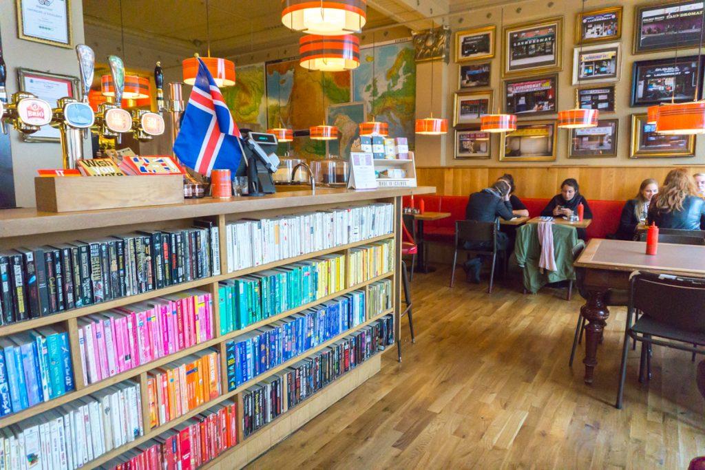 The Laundromat Café, un chouette café à Reykjavik