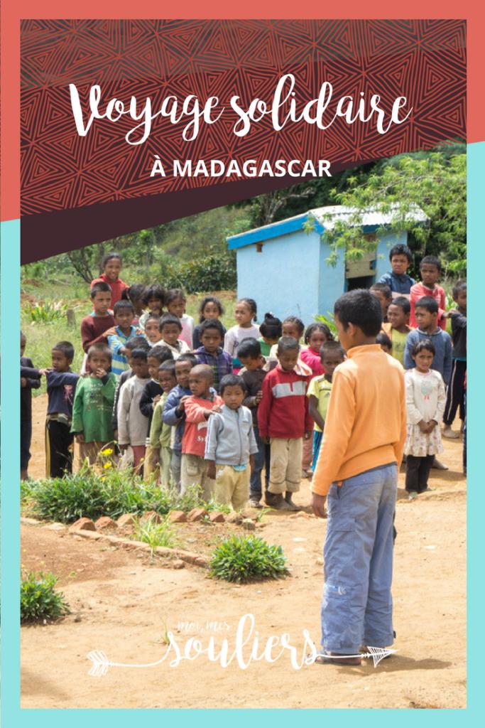 Récit de mon voyage solidaire à Madagascar - Tourisme villageois, dormir chez l'habitant, nuitées durables avec Village Monde