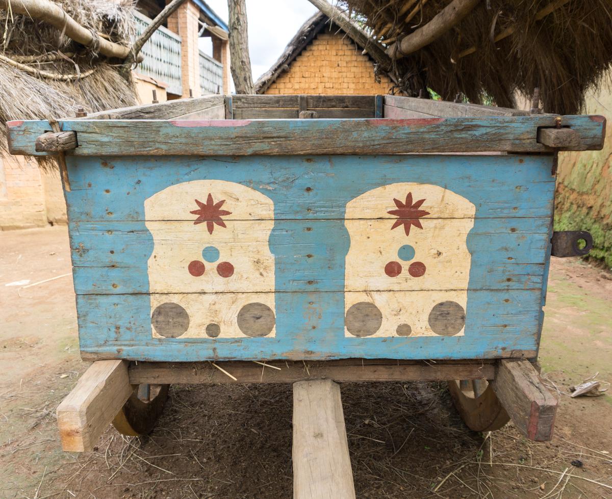 Charette typique de Madagascar