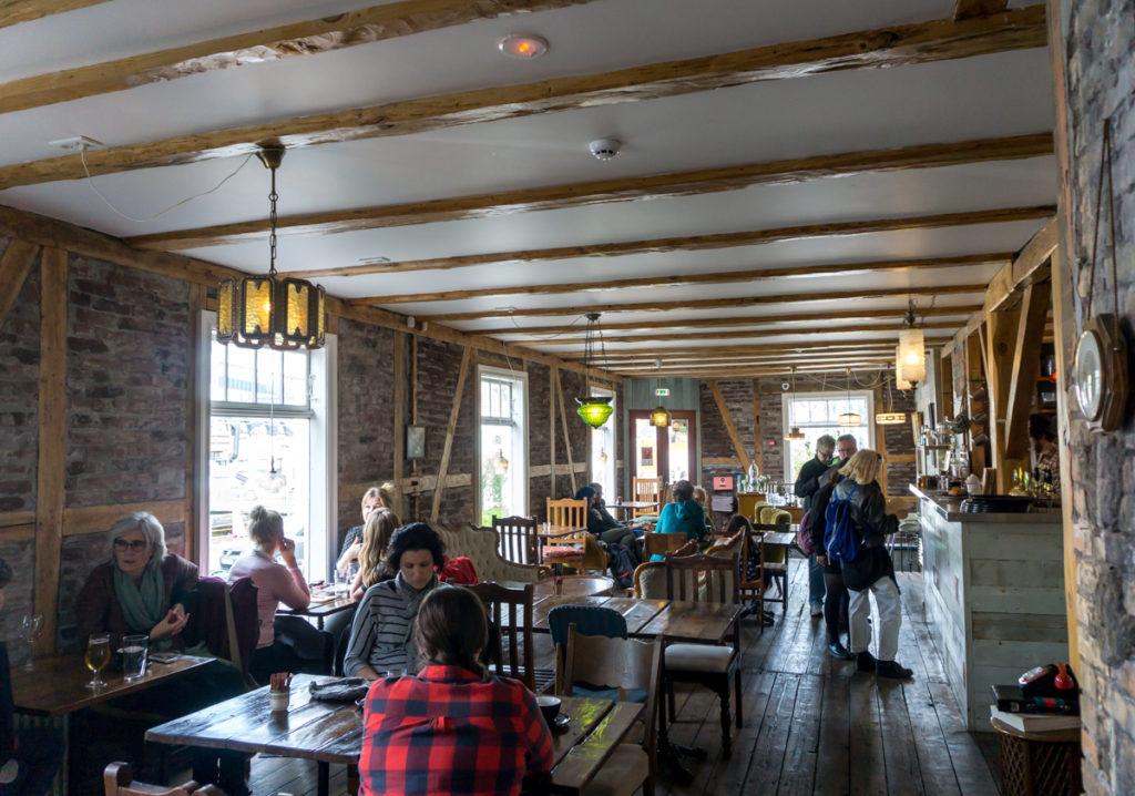 Intérieur du Stofan Kaffihus café à Reykjavik