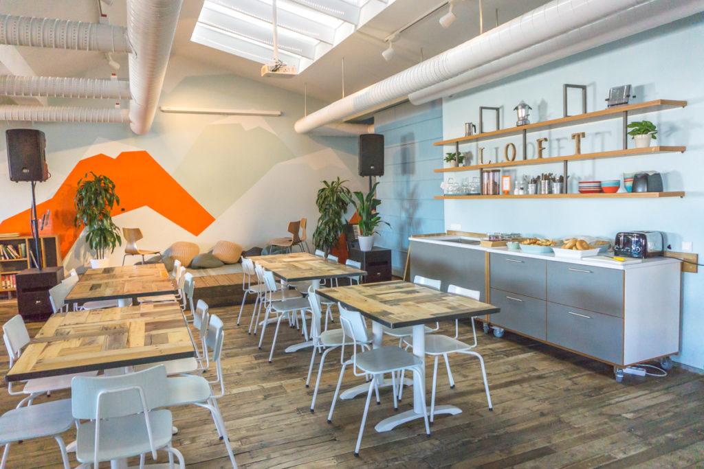 Loft Hostel HI de Reykjavik - Salle à manger de l'auberge de jeunesse