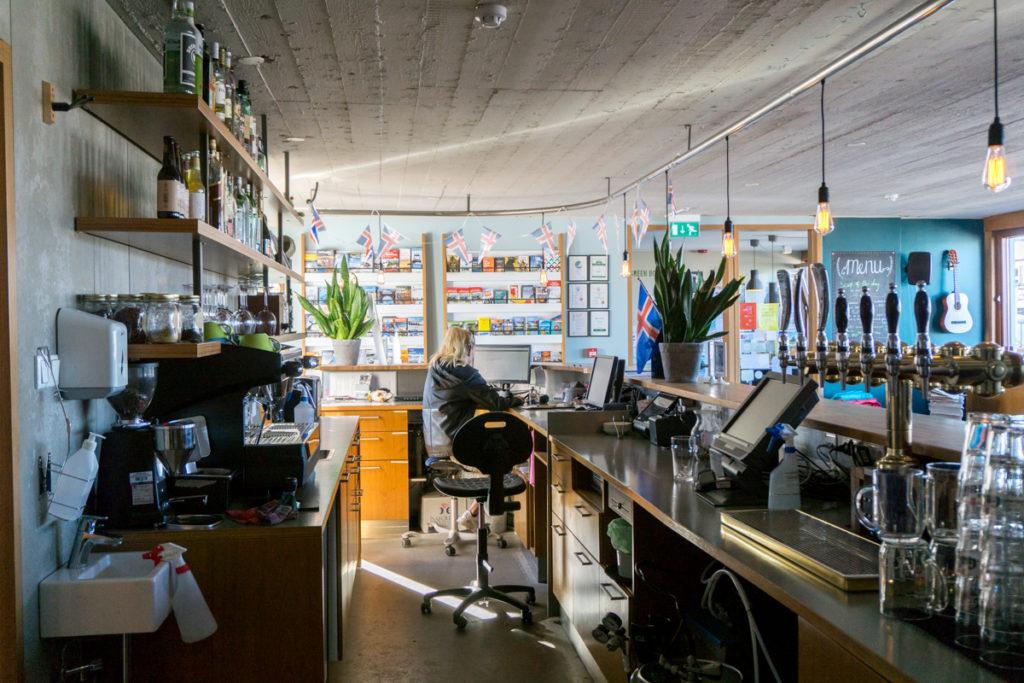 Bar du Loft Hostel HI de Reykjavik
