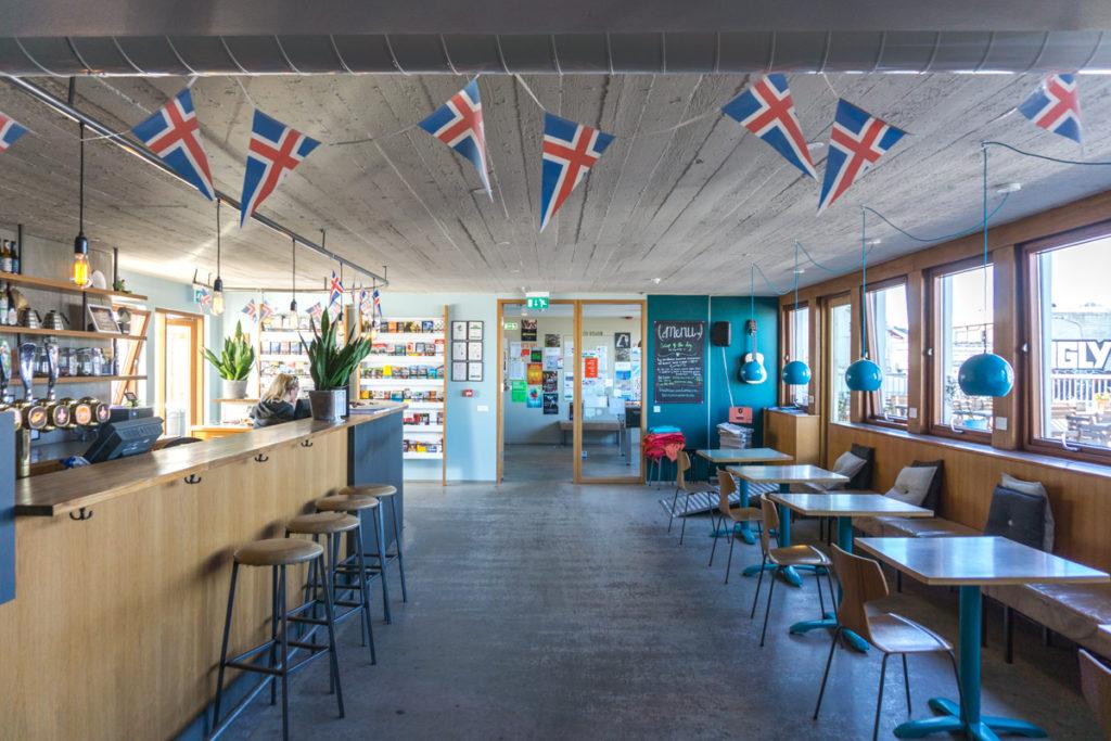 Bar-lounge Bar du Loft Hostel HI de Reykjavik