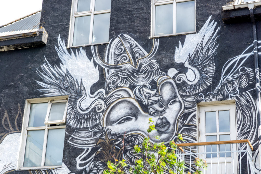 Art de rue à Reykjavik