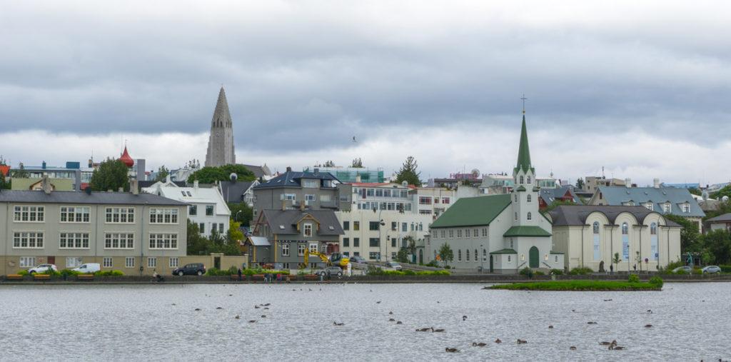 Lac Tjörnin - Guide de Reykjavik