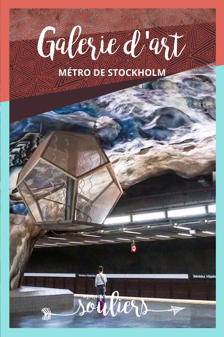 Musée souterrain à Stockholm : T-Bana