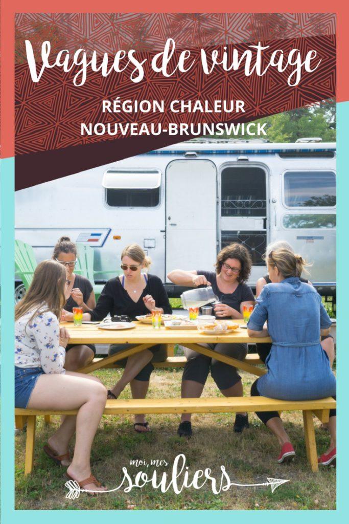 Vintage Nouveau-Brunswick - Camping en airstream à Petit-Rocher
