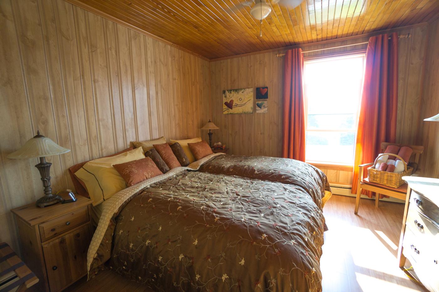 Auberge Haut bois dormant - chambre à coucher