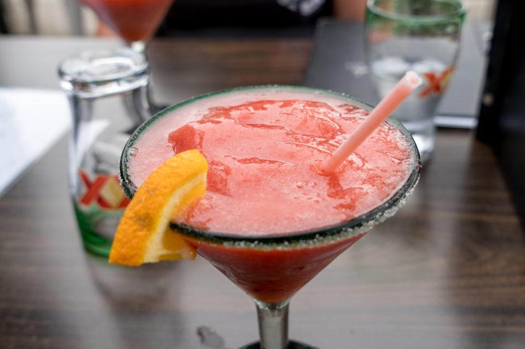 Daiquiri aux Fraises de Guacamole y Tequila à Magog
