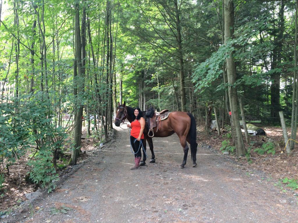 Équitation au Ranch Au Gré du Vent