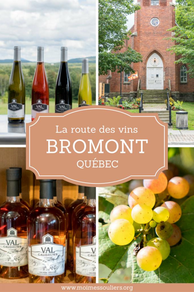 Route des vins de Bromont