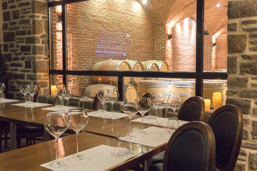 Salle de dégustation - Route des vins - Vignoble du Ruisseau de Dunham