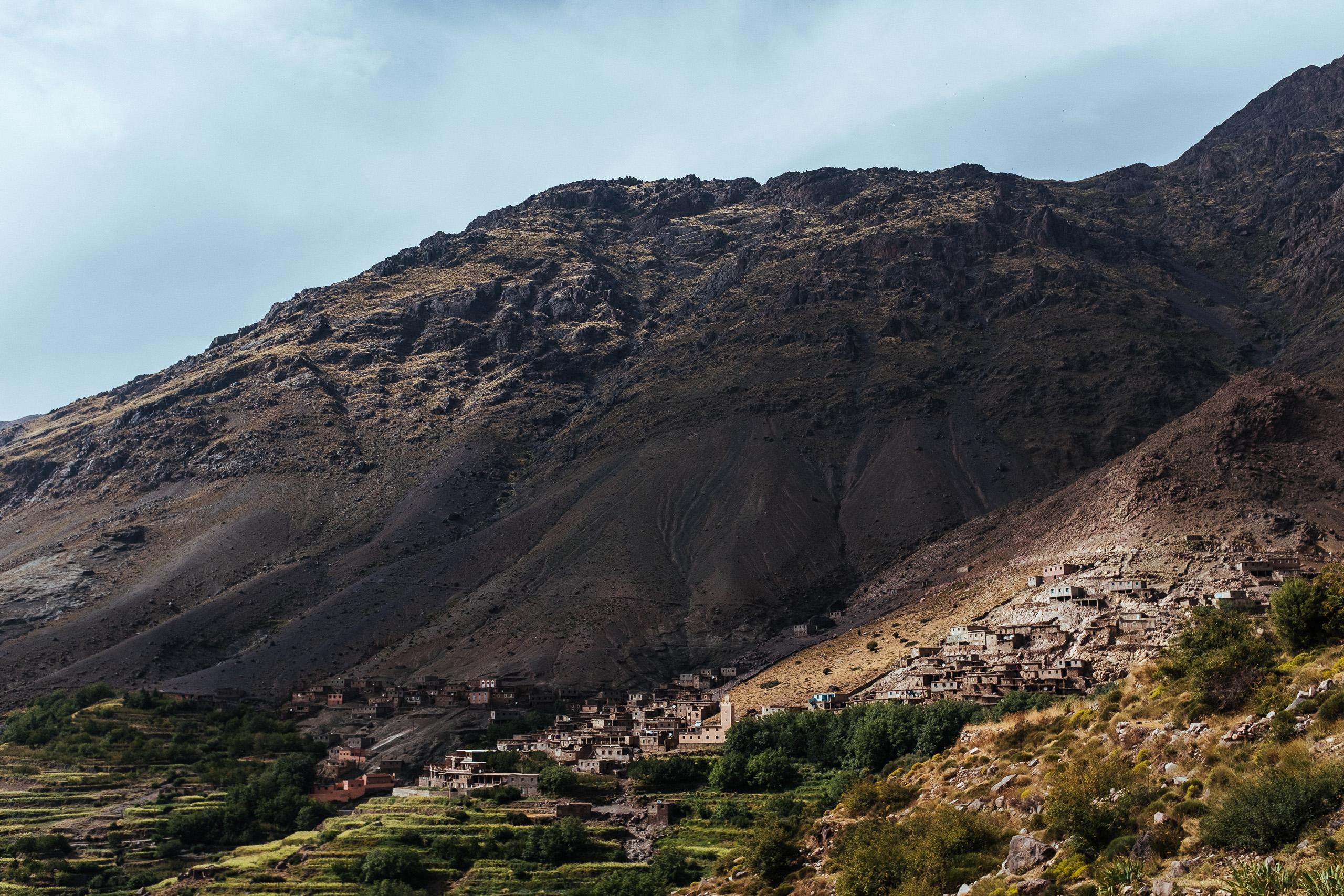 Village de Tacheddirt dans le Haut Atlas