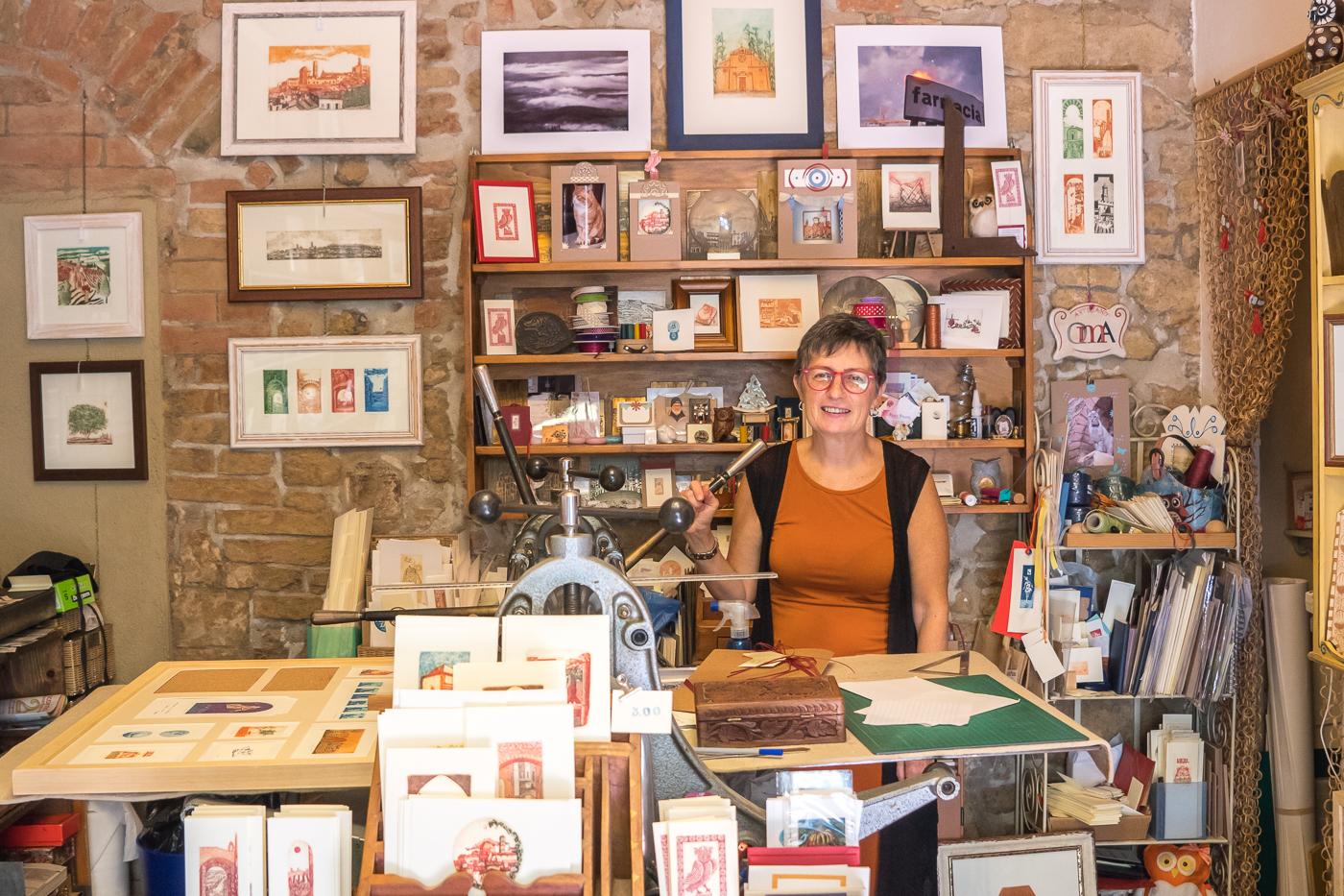 Babo Babo, boutique de Volterra