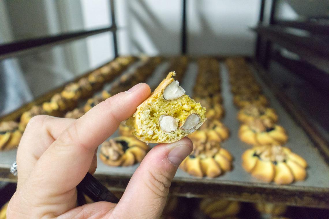 Cantuccini, biscuits aux amandes en Toscane