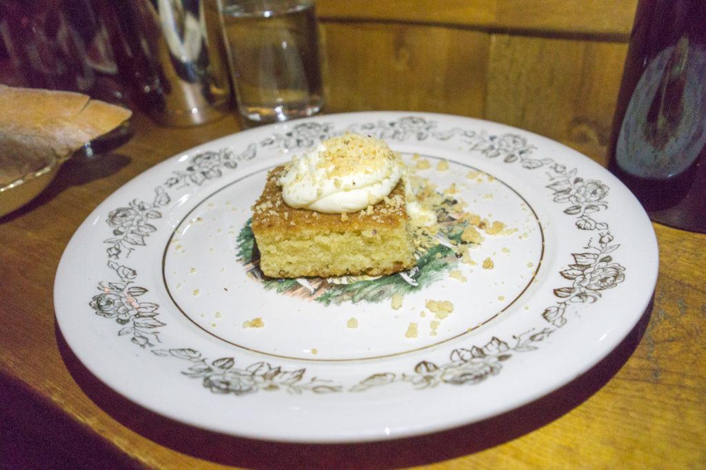 Dessert de MTL à Table - Resto à Villeray
