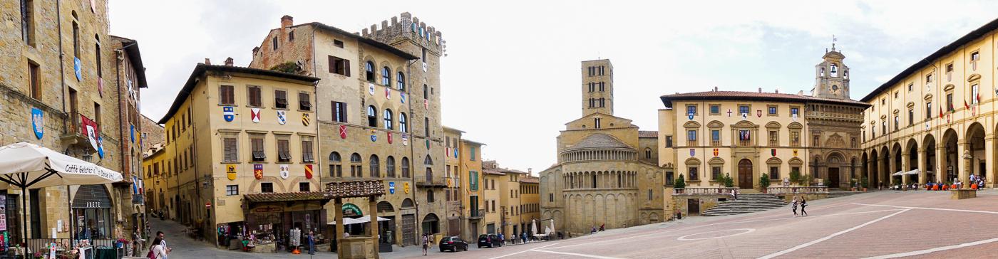 Panorama d'Arezzo - Toscane
