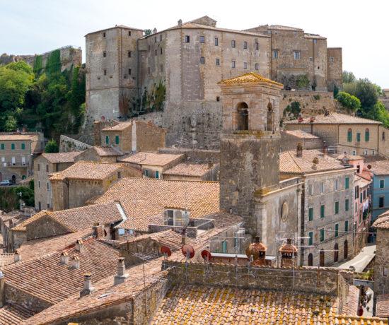 Panorama de Sorano - À faire en Toscane - Masso Leopoldino