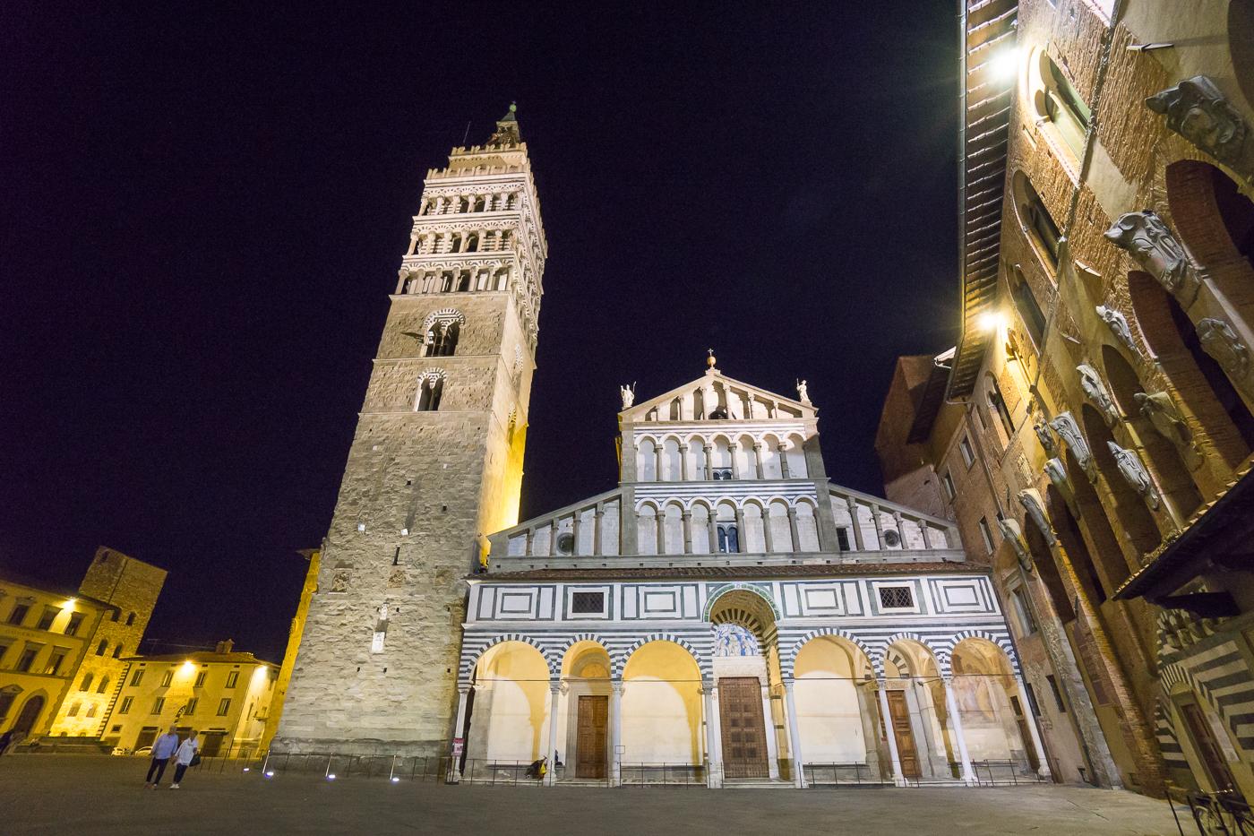 Place principale de Pistoia, Toscane - Village incontournable