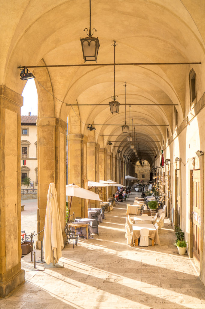 Loggia d'Arezzo, quoi faire en Toscane?