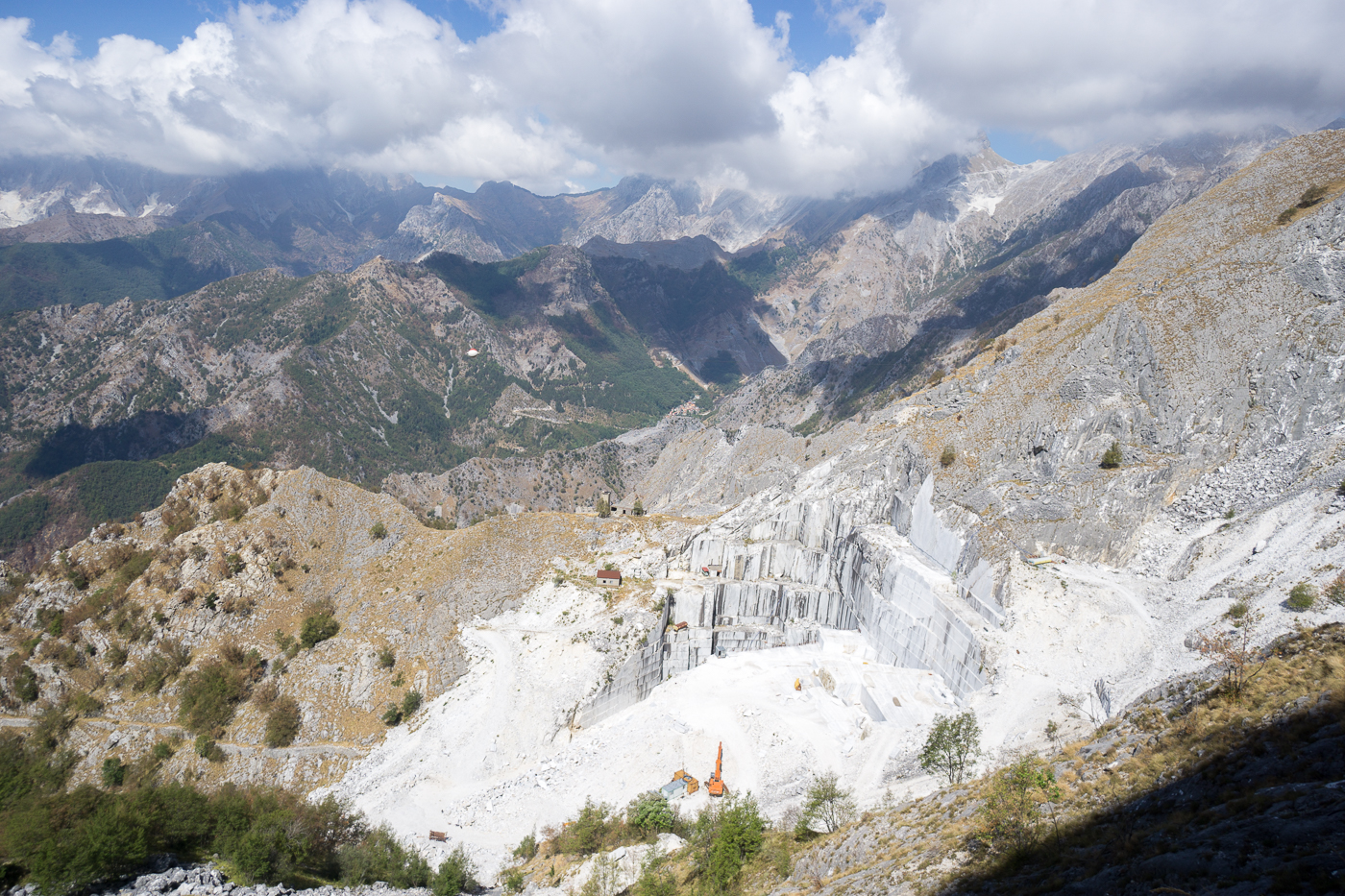 Montagnes de marbre - Alpes apuanes - Quoi faire en Toscane?