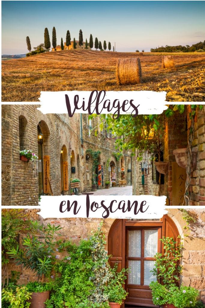 Villages à voir en Toscane