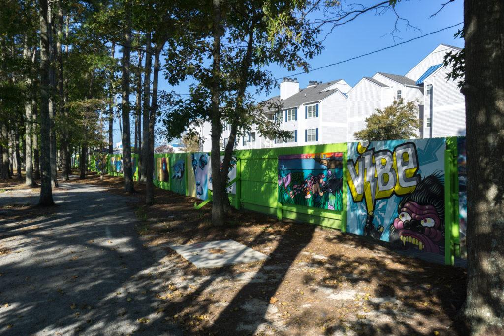 18th Street Park - Street art