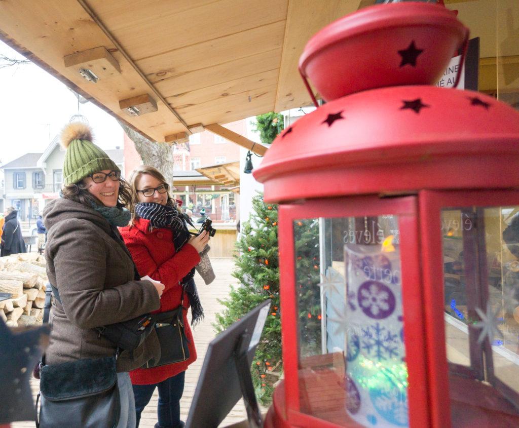 Annie et Maude dans les marchés de Noël de Lanaudière