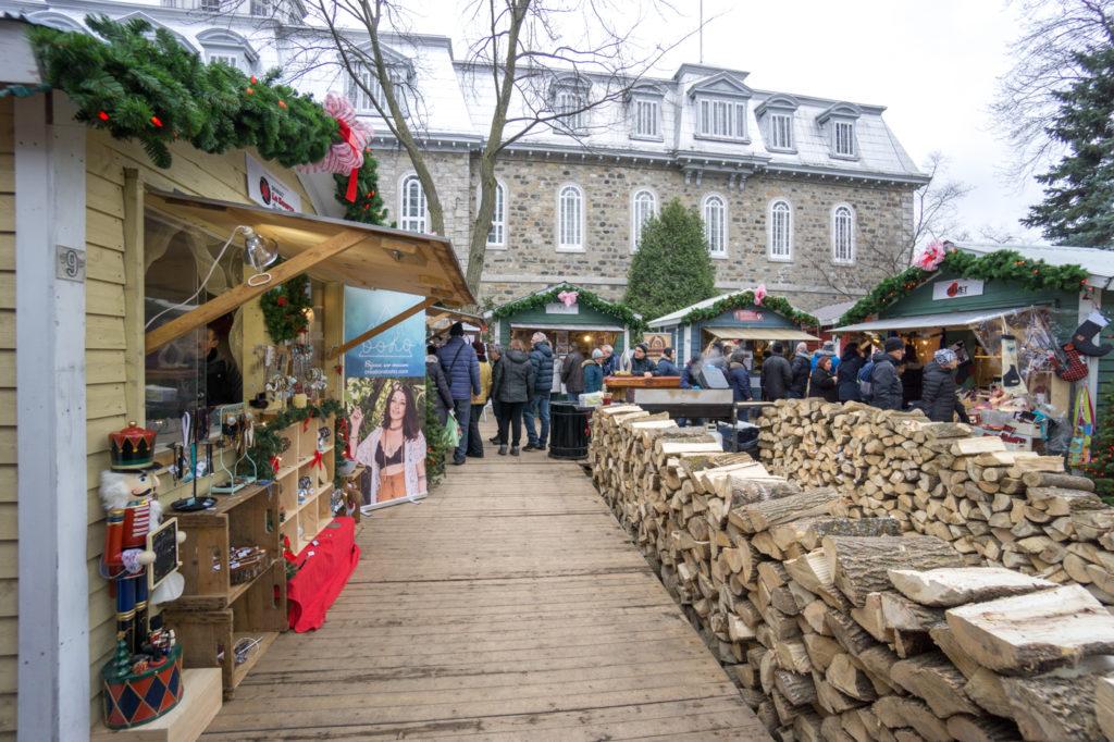 Cabane du marché de Noël de L'Assomption