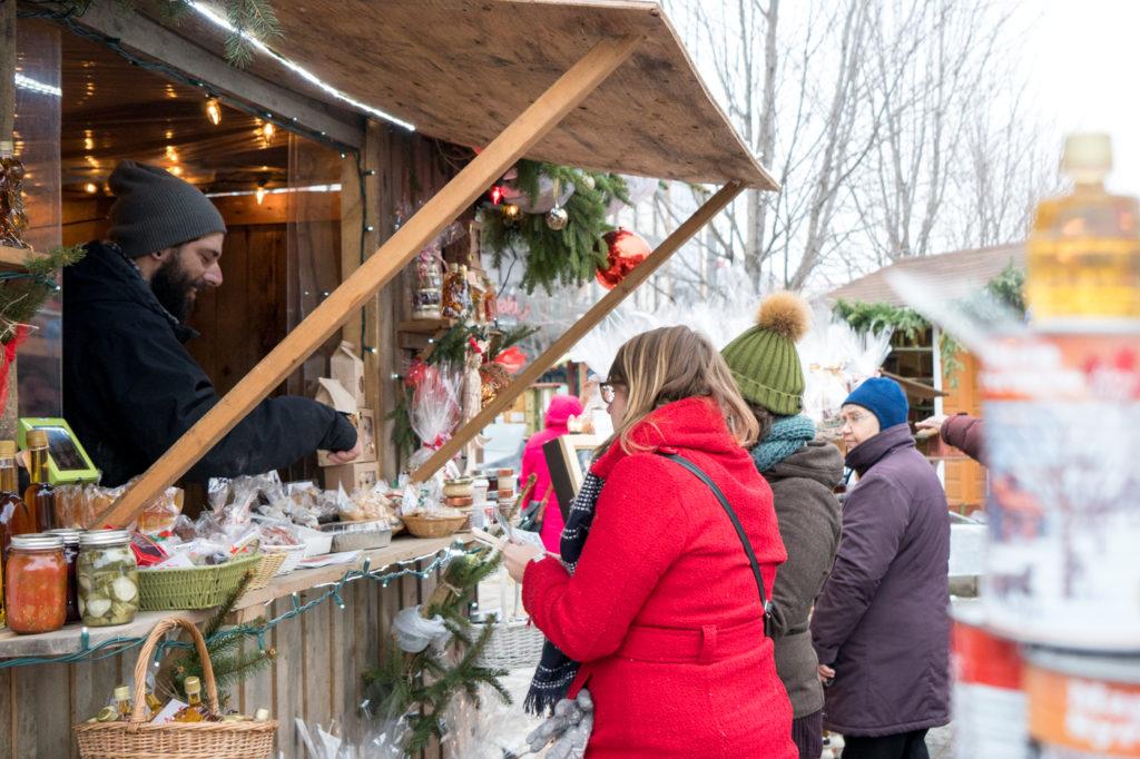 Marchés de Noël de Joliette - cabane à sucre