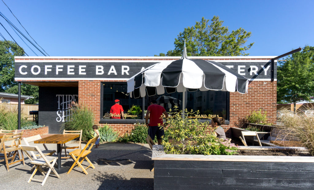 Three Ships Coffee Bar - Café dans le Vibe Creative District