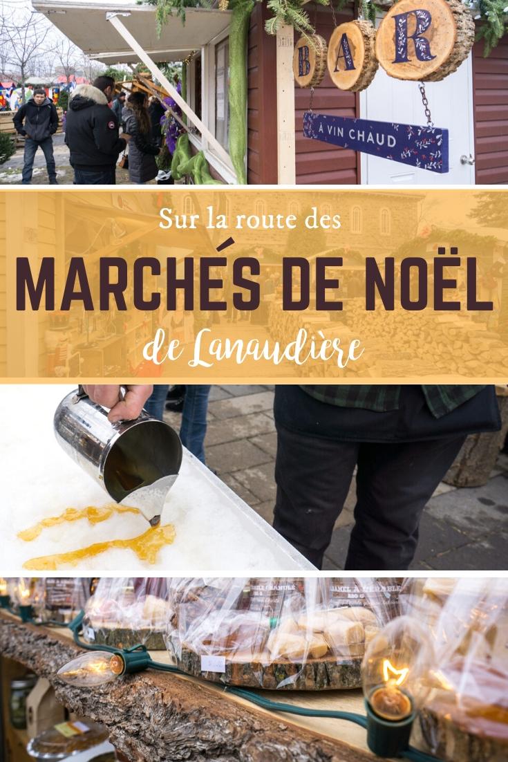 Sur la route des marchés de Noël dans Lanaudière au Québec