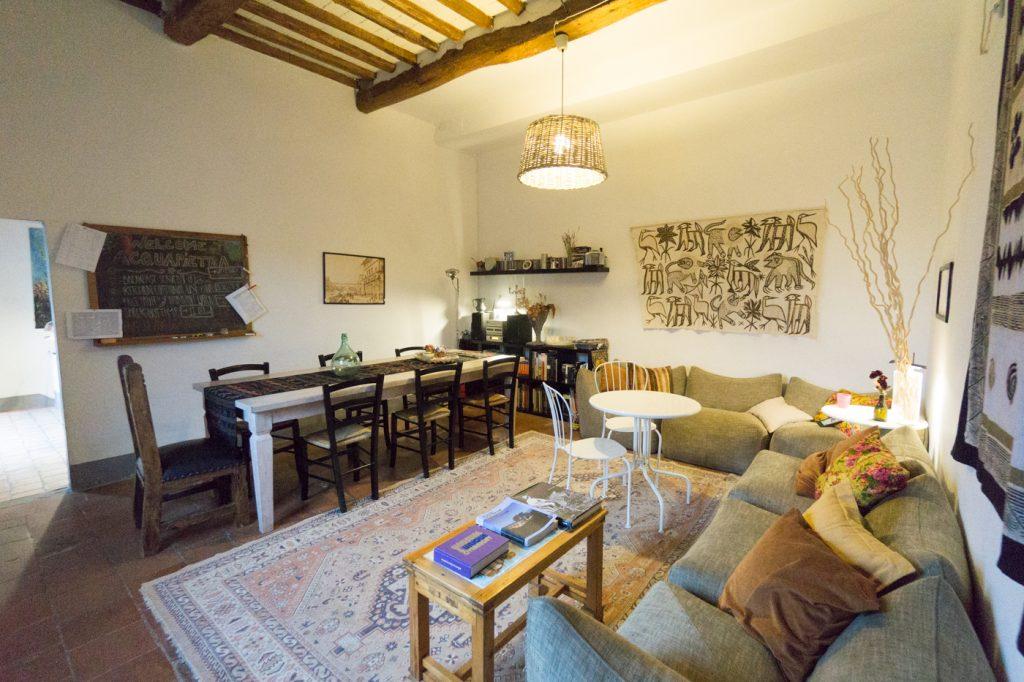 Où dormir en Italie - Salle à manger du Acquapietra Guesthouse