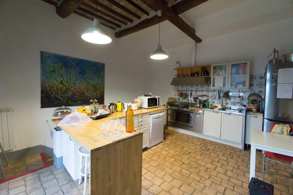 Où dormir en Italie - Cuisine du Acquapietra Guesthouse