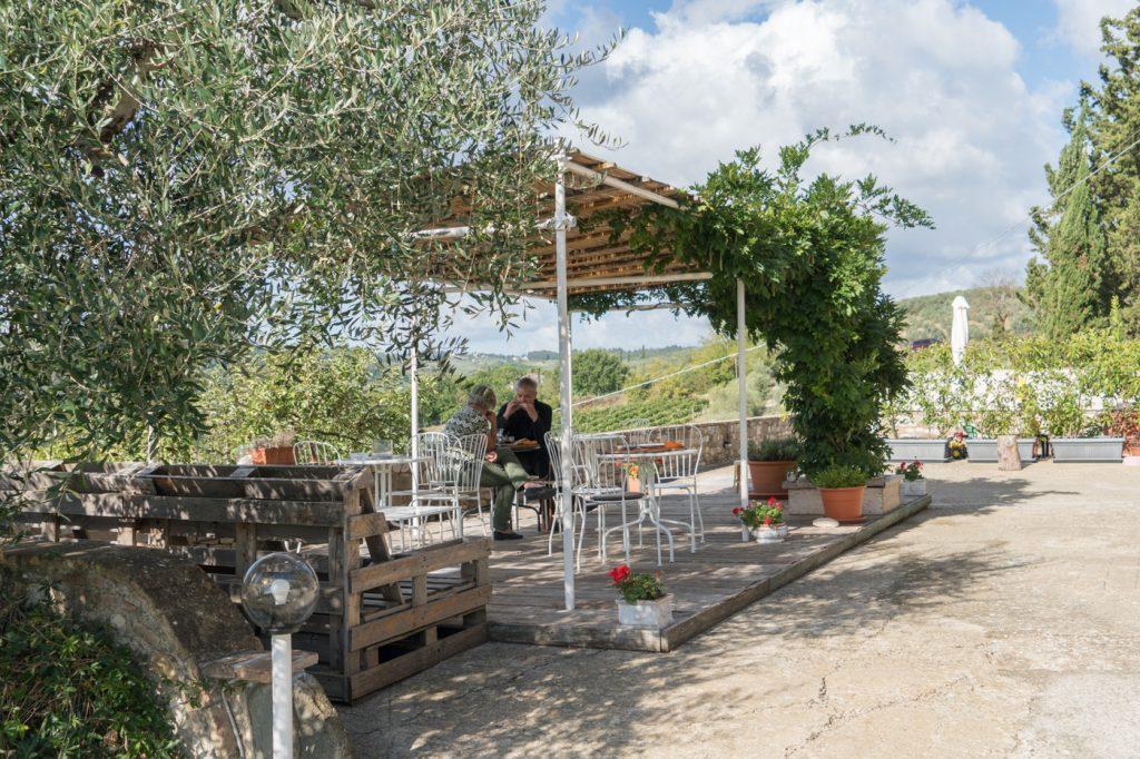 Terrasse du Acquapietra Guesthouse