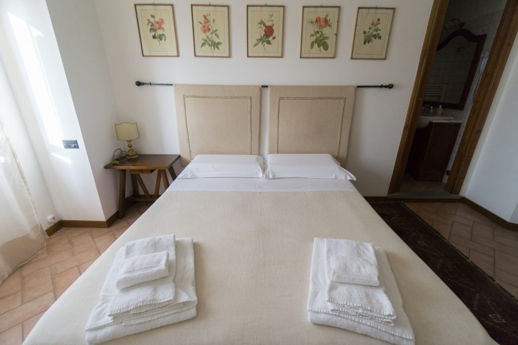 Une des chambres - Casalta di Sotto - Toscane