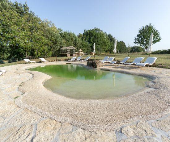 Piscine à l'eau salée - Agriturismo biologico Sant'Egle - Sorano, Toscane