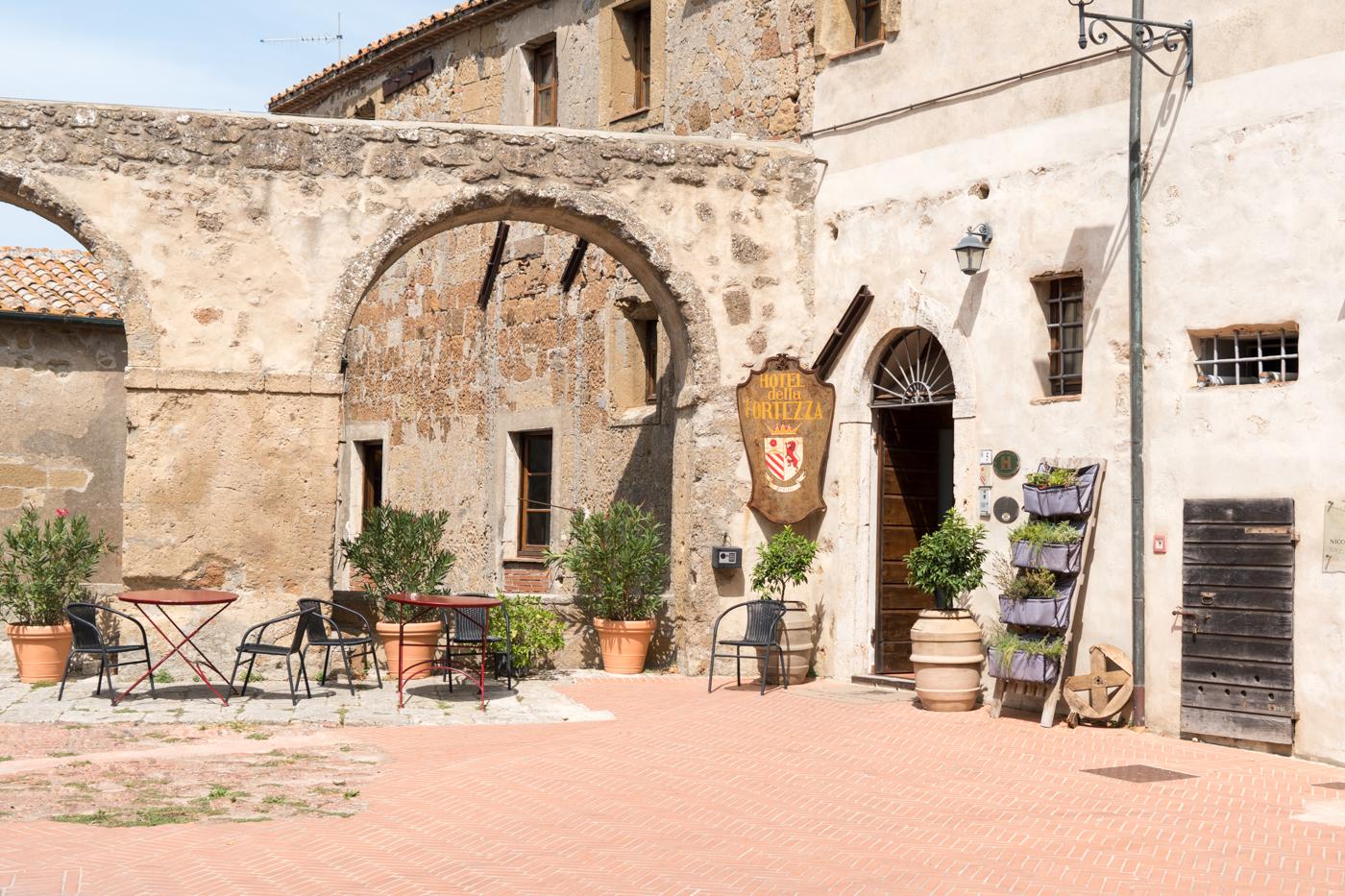 Hotel della Fortezza Orsini - Où dormir à Sorano, Toscane