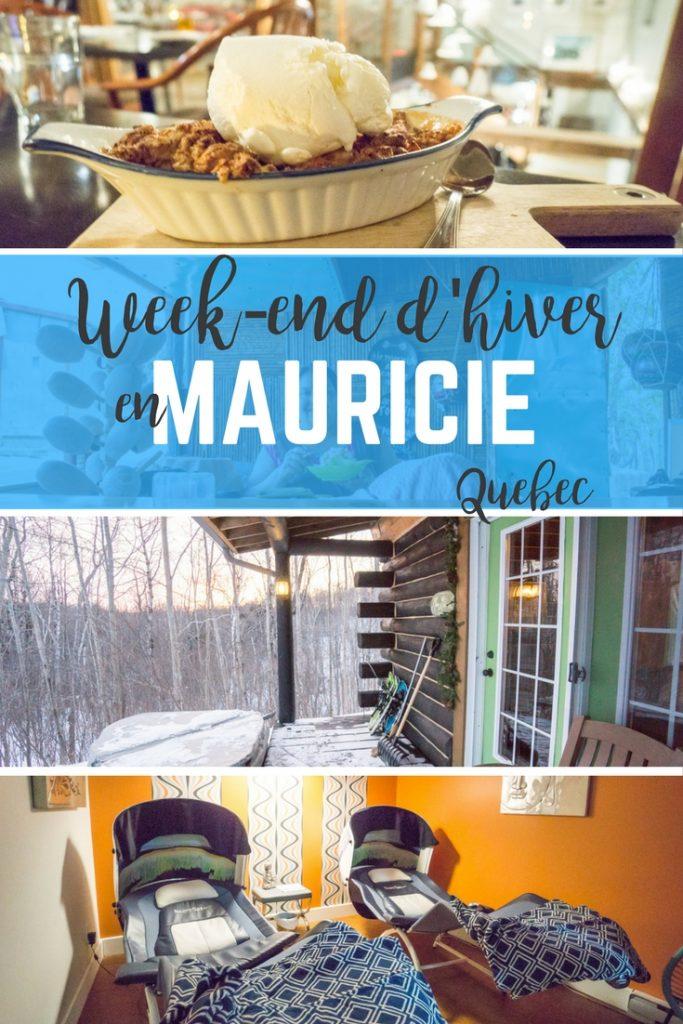 Quoi faire en hiver en Mauricie - Québec - Week-end en Mauricie