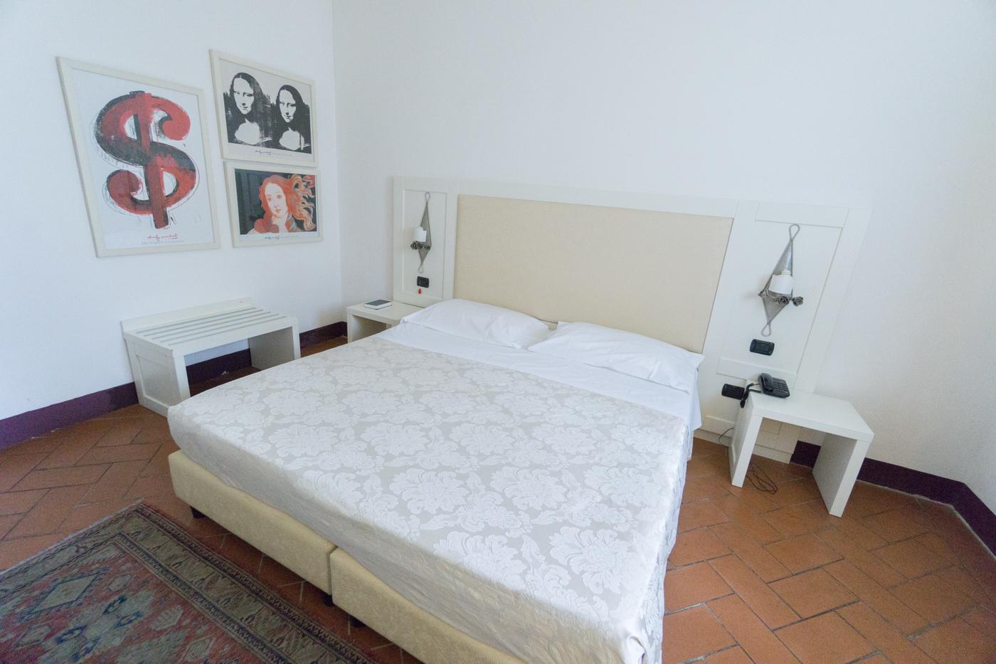 Ma chambre à l'Hôtel San Miniato