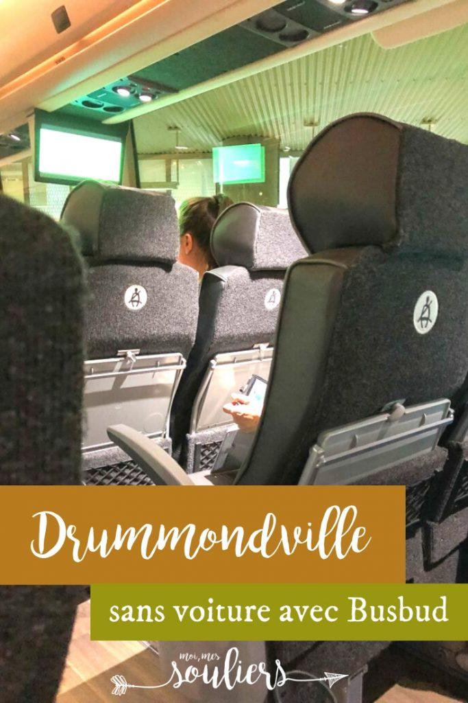 Drummondville sans voiture avec Busbud