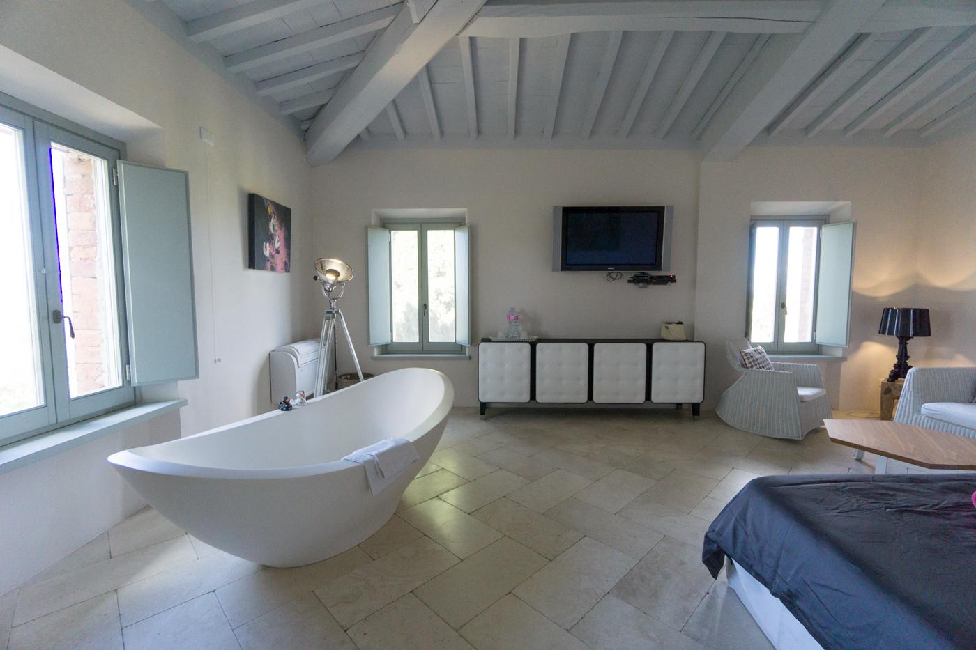 Chambre en Toscane
