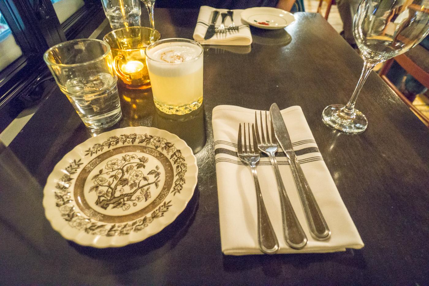 Table du restaurant Zélé - Quoi manger en Mauricie